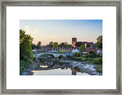 Aylesford Village Framed Print by Ian Hufton