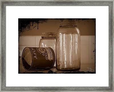 Aylmer Tomatoes Daysofold Framed Print by Guy Hoffman