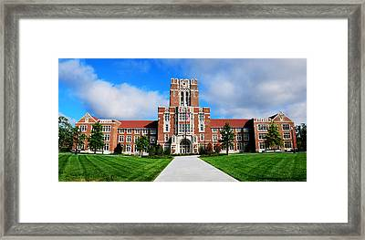Framed Print featuring the photograph Ayres Hall by Paul Mashburn