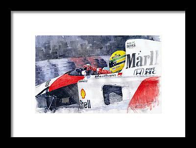 F1 Framed Prints
