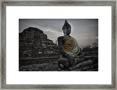 Ayuthaya Dark Framed Print by David Longstreath