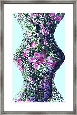 Azalea Vase Framed Print by Pamela Hyde Wilson