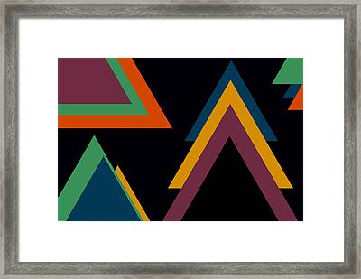 Aztec 2 Framed Print by Chastity Hoff