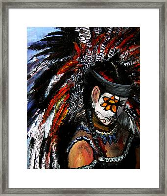 Aztec Celebration Framed Print