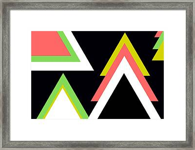 Aztec  Framed Print by Chastity Hoff