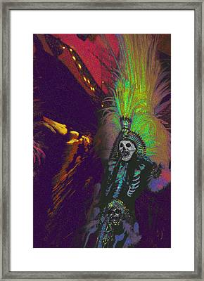 Aztec Dancer Framed Print