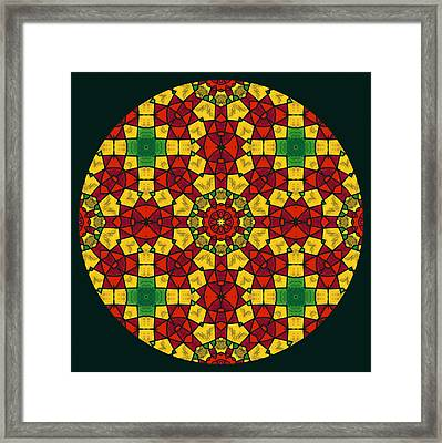 Aztec Influences Framed Print