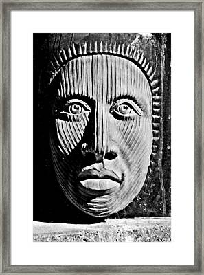 Aztec Man Framed Print by Bob Wall