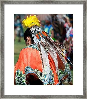 Aztecan Ceremony 6 Framed Print by Gwyn Newcombe