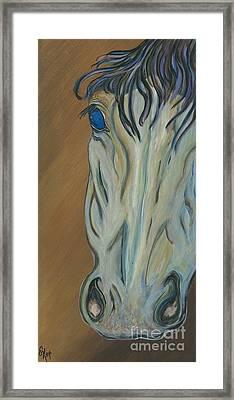 Azul Framed Print by Ella Kaye Dickey
