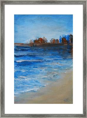 Azure Framed Print by Jane  See