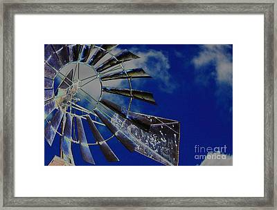 Azure Sky  Framed Print
