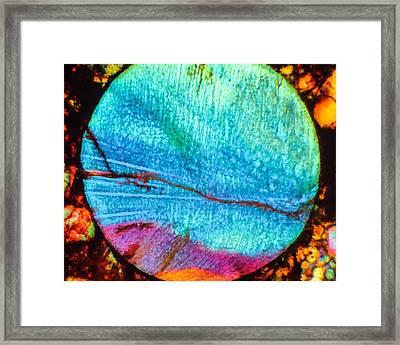 Azure Sunset Framed Print by Tom Phillips