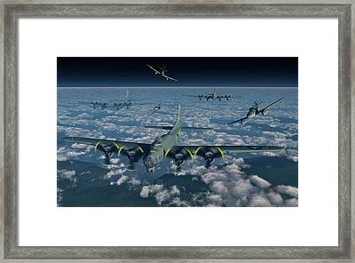 B-17 Flying Fortress Bomber Planes Framed Print