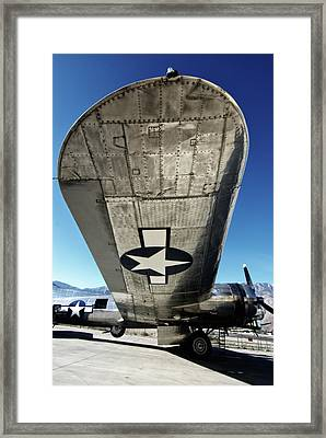 B 17 Sentimental Journey Framed Print