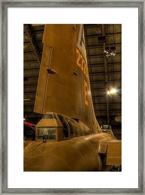 B-17 Tail Gunner Framed Print