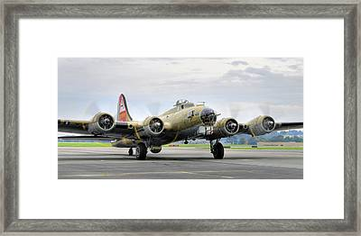 B-17g Framed Print by Dan Myers