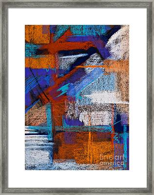 Patterned After Me Framed Print by Tracy L Teeter