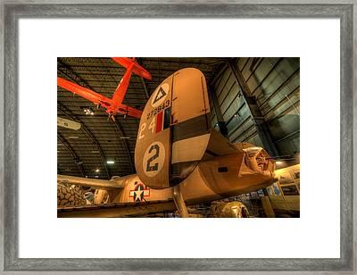 B-24 Liberator Tail Framed Print