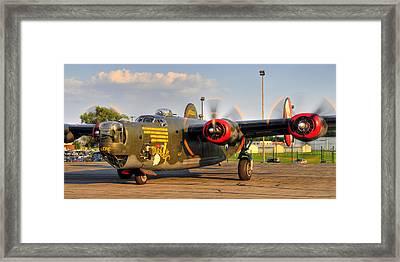 B-24j Framed Print by Dan Myers