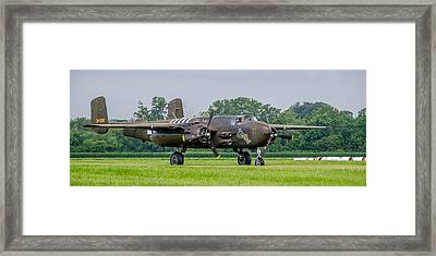 B-25h Barbie IIi   7d03894 Framed Print by Guy Whiteley