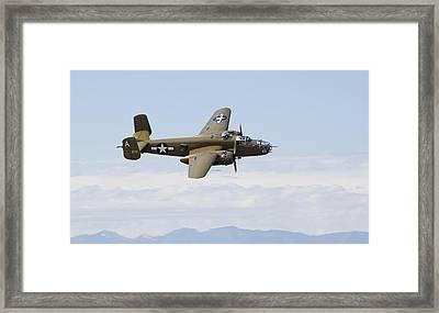 B-25j Mitchell Framed Print