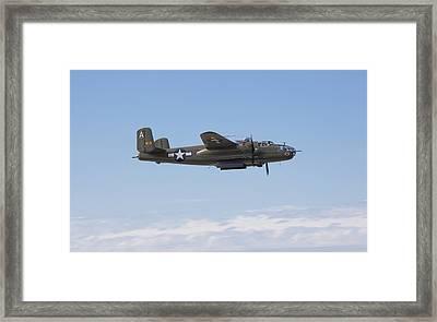 B-25j Framed Print