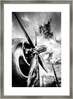 B 29 Superfortress Propellers  Framed Print by Puget  Exposure