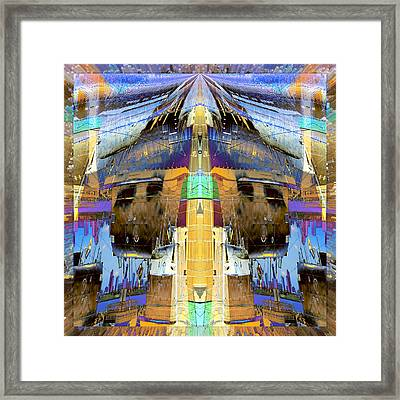B-427 Sub Rise Framed Print by Wendy J St Christopher