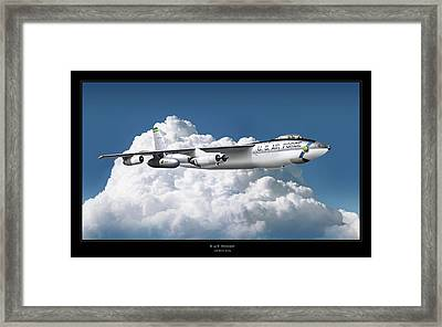 B-47 Stratofortress Framed Print by Larry McManus