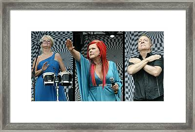 Framed Print featuring the photograph B-52s by Don Olea