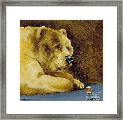 B And B... Framed Print by Will Bullas