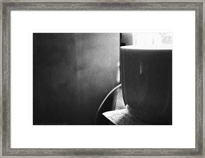B And W Framed Print by Stacie  Goodloe