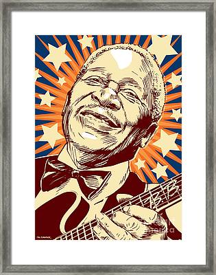 B. B. King Framed Print