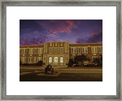 B C H S At Dusk Framed Print