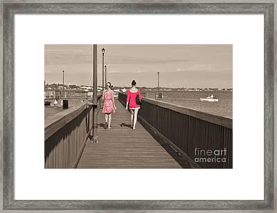 B F F's Framed Print by Lynda Dawson-Youngclaus