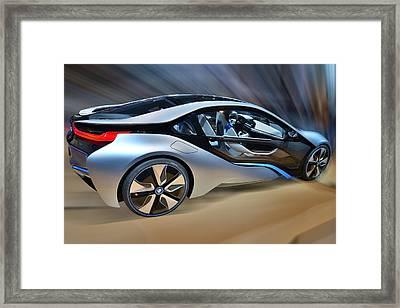 B M W Edrive Concept Framed Print