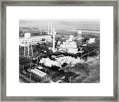 B Reactor Framed Print