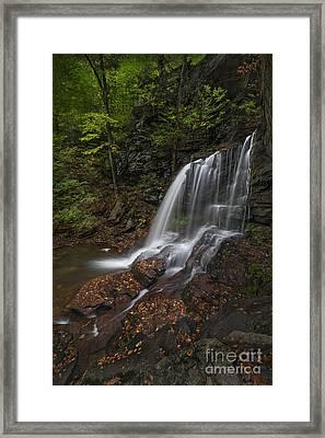 B Reynolds Falls Framed Print by Roman Kurywczak
