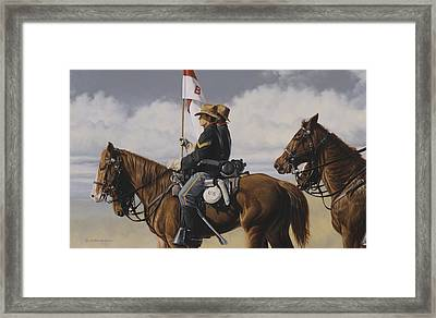 B Troop Framed Print