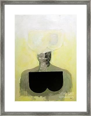 B Framed Print by Zek