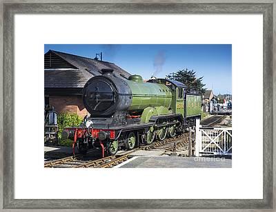 B12 Steam Loco 8572 Framed Print by Simon Pocklington