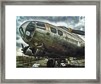 B17 Bomber Framed Print by Gregory Dyer