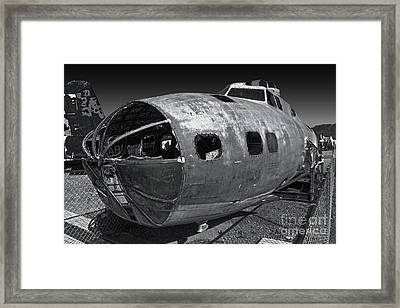 B17 Derelict Airplane - 02 Framed Print by Gregory Dyer