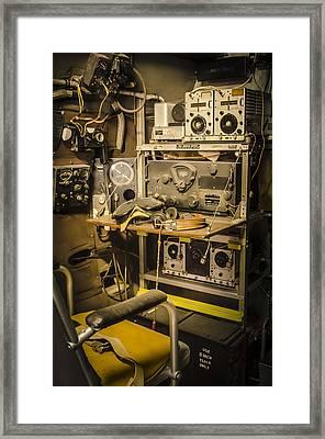 B26 Bomber Radioman Framed Print