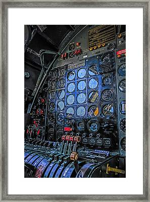 B29 Fe Panel Framed Print by Chris Smith