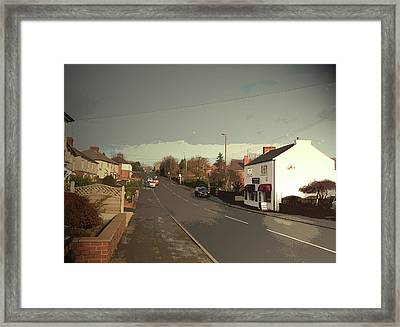 B6007 Heanor Road In Codnor, A Well-appointed Shop Framed Print