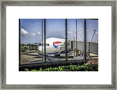 Ba-777 Framed Print