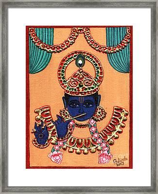 Baansuri Krishna Framed Print
