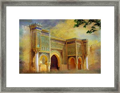 Bab Mansur Framed Print